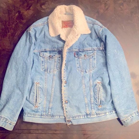 Levi's Vintage Sherpa Denim Jacket
